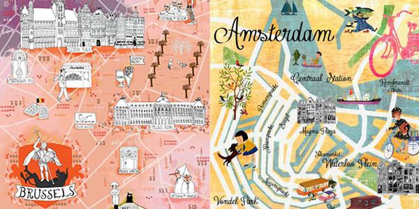 Сказочное путешествие № 65: Брюссель и Амстердам с обширной экскурсионной программой!