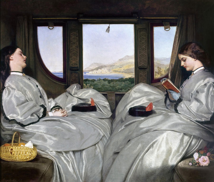 Augustus Egg, The Travelling Companions (1862; Birmingham Museum and Art Gallery).