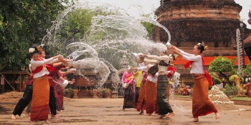 Сказочное путешествие № 191: Сонгкран – апрельский Новый Год в Таиланде (остров Пхукет)